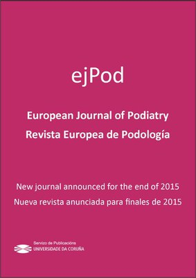 European Journal of Podiatry/Revista Europea de Podología (ejPod)